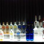 Una lista de los diferentes tipos de vodka