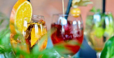 Bebidas de verano con bourbon